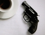 2014_Coffee and gun