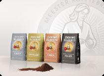 2015_Douwe Egberts 4 roasts new packs