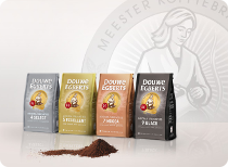 2015_Douwe Egberts 4 roasts new packs