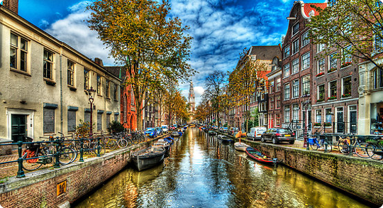 2015_DE Holland In Fall Canal