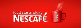 2017_Nescafe cup with It all Starts With A Nescafe