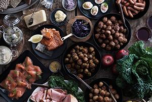 traditional-swedish-christmas-buffet-or-julbord-300