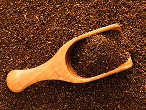 Scoop of Ground Coffee