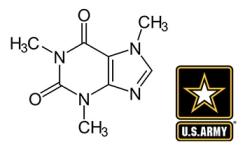 Caffeine-molecule-army