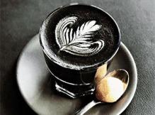 Charcoal-latte