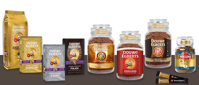 Douwe Egberts Pure Gold Enjoy Better Coffee