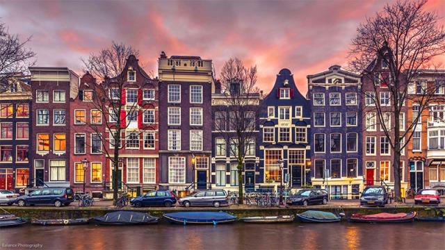 Canal-Row-Sunset